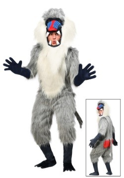 Disfraz de babuino para adulto