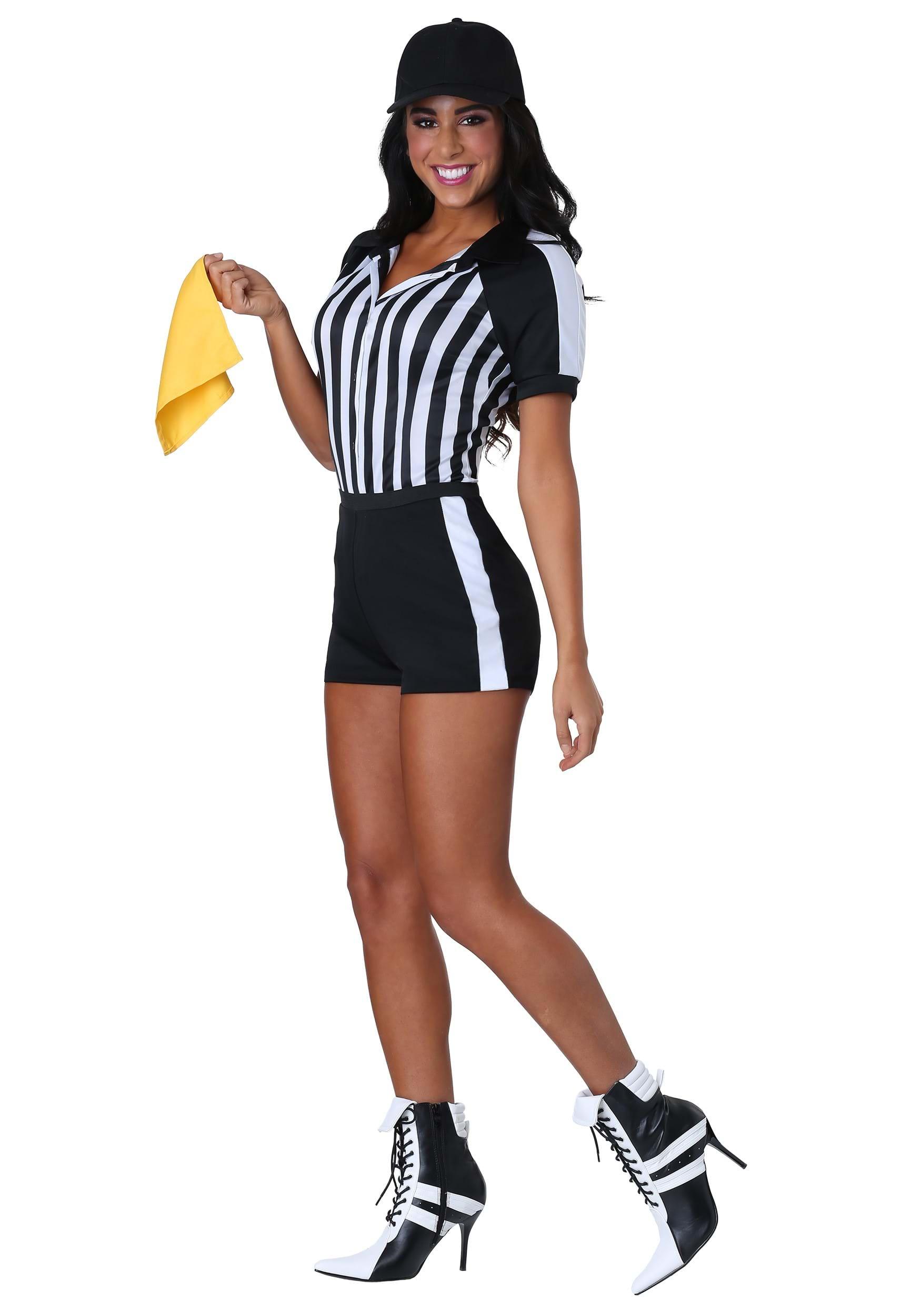 90184cb6158 Vestido para mujer de árbitro picante