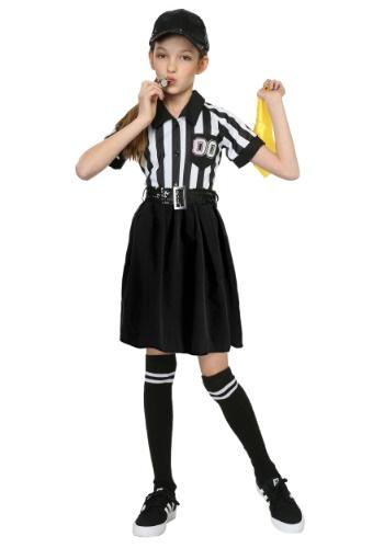 Disfraz de árbitro de niña