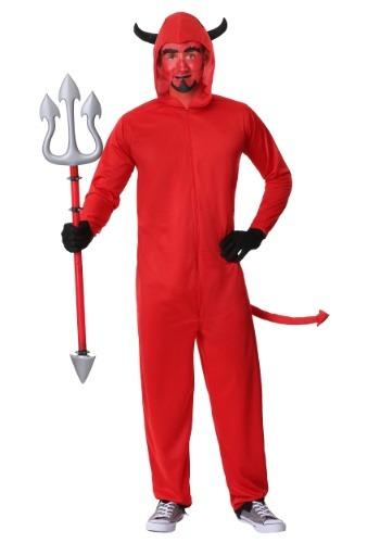Disfraz de mono adulto del diablo