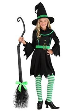 Disfraz de bruja esmeralda para niñas