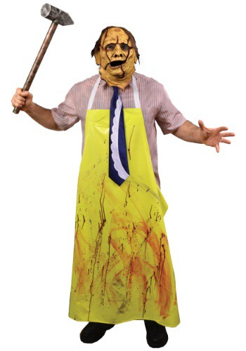 Disfraz Leatherface de Texas Chainsaw Massacre para adulto