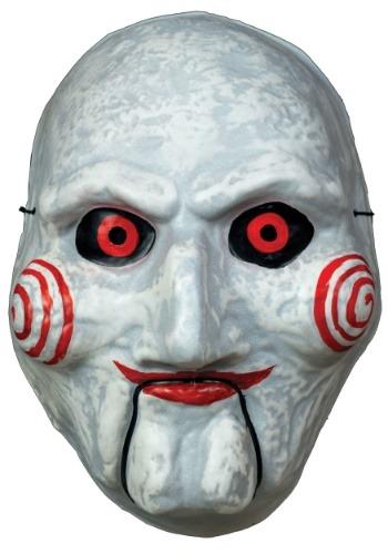 Máscara vacuform de marioneta de Saw para adulto