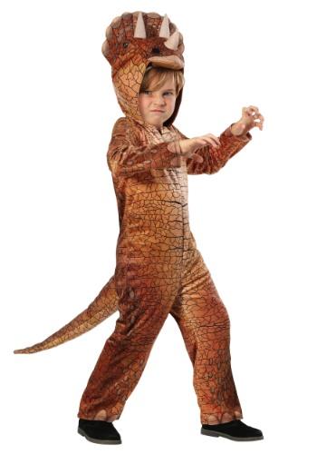 Disfraz de triceratops para niños pequeños