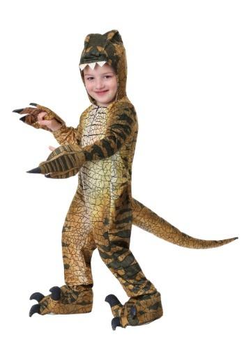 Traje de Velociraptor para niños pequeños