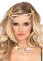 Diadema de estrella y perlas de sirena