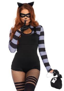 Disfraz de gato ladrón para mujer