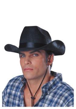 Sombrero de vaquero ranchero negro