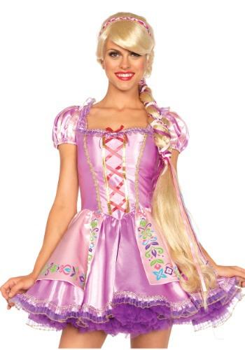 Peluca para mujer Rapunzel