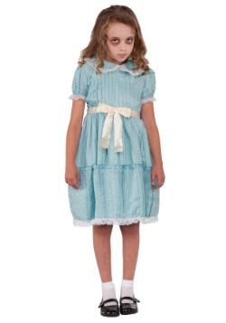 Disfraz de hermana gemela espeluznante para niñas