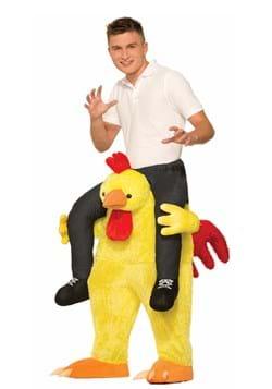 Lucha de pollo adulto en traje