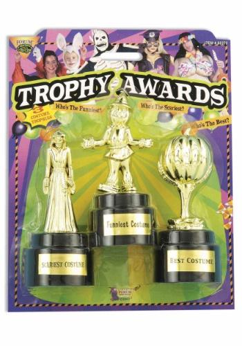 Trofeos de trofeos de fiesta de disfraces - paquete de 3