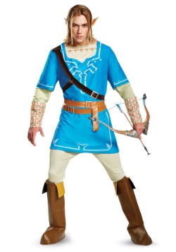 Traje de lujo Legend of Zelda Link Breath of the Wild para h