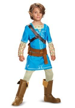 Leyenda de Zelda Aliento del Wild Link Deluxe Boys Costume