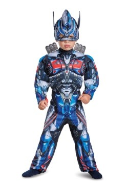 Disfraz de Optimus Prime Toddler Muscle para transformadores