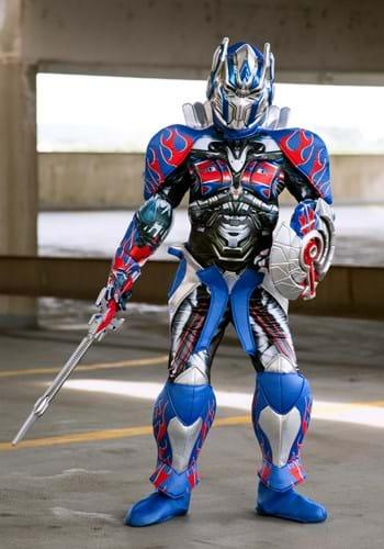 Disfraz de niño Optimus Prime Prestige