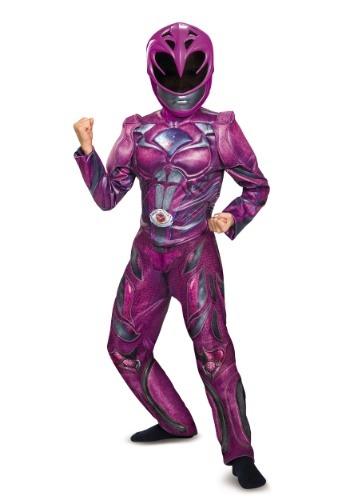 Disfraz de Ranger rosa deluxe para niñas
