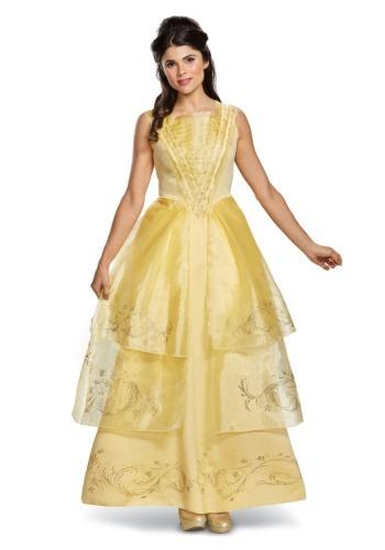 Disfraz deluxe de baile Bella para mujer
