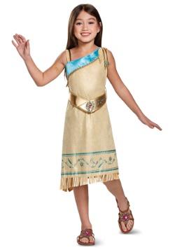 Disfraz de Pocahontas Deluxe para niña