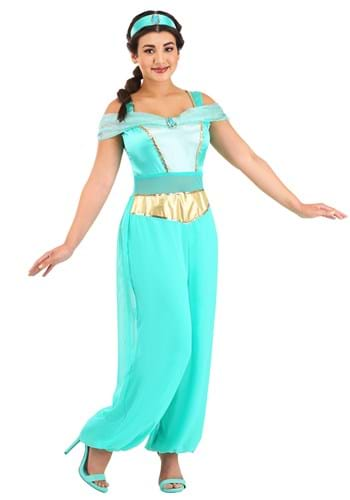 Disfraz de Jasmín deluxe para mujer