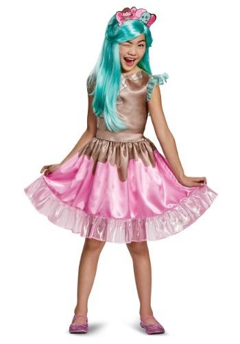 Disfraz de Peppa-Mint clásico para niña