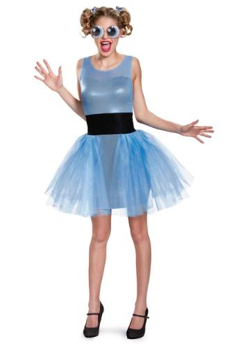Disfraz de Powerpuff Girls Bubbles Deluxe para mujer