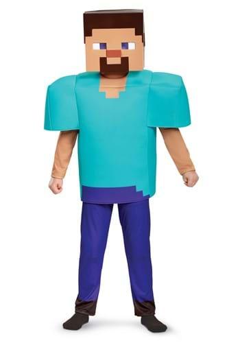 Disfraz de Minecraft Steve Deluxe para niño