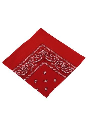 Pañuelo para la cabeza rojo