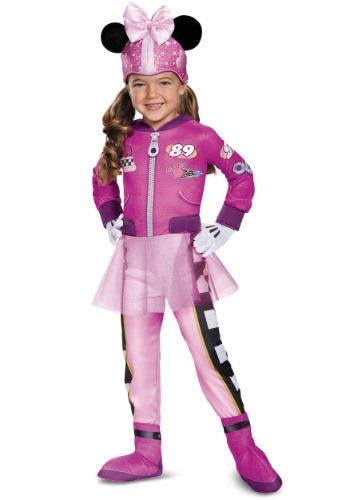 Disfraz de Minnie Roadster Deluxe para niño