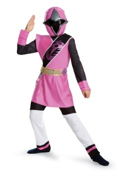 Disfraz de Power Rangers Ninja Steel Pink Ranger Muscle Girl
