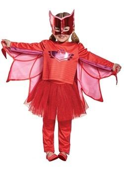 Disfraz Owlette con tutú de PJ Masks Prestige niños pequeños