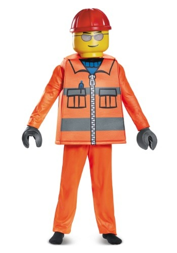 Disfraz de LEGO Construction Worker Deluxe Boys