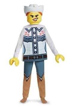 Disfraz de Lego Cowgirl Deluxe para niño