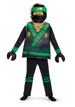 Disfraz de Lloyd de la película Ninjago Deluxe para niño