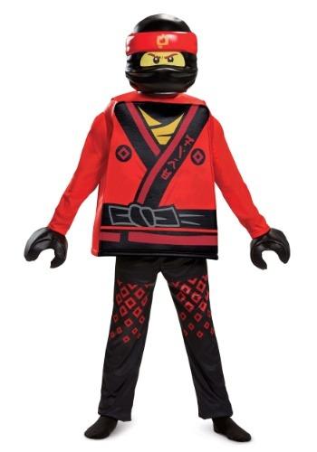 Disfraz de Kai de la película Ninjago Deluxe para niño
