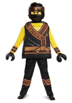 Disfraz de Cole de la película Ninjago Deluxe para niño