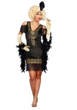 Disfraz Flapper a la moda para mujer