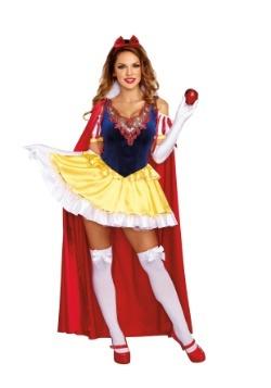 Disfraz de mujer blanca nieve Sassy