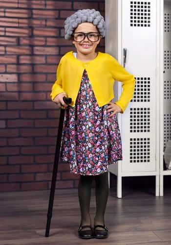 Disfraz infantil de abuela