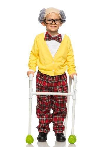 Disfraz infantil de abuelo