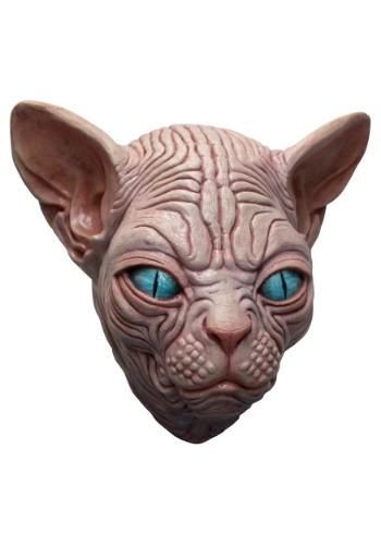 Máscara de gato Sphynx para adulto