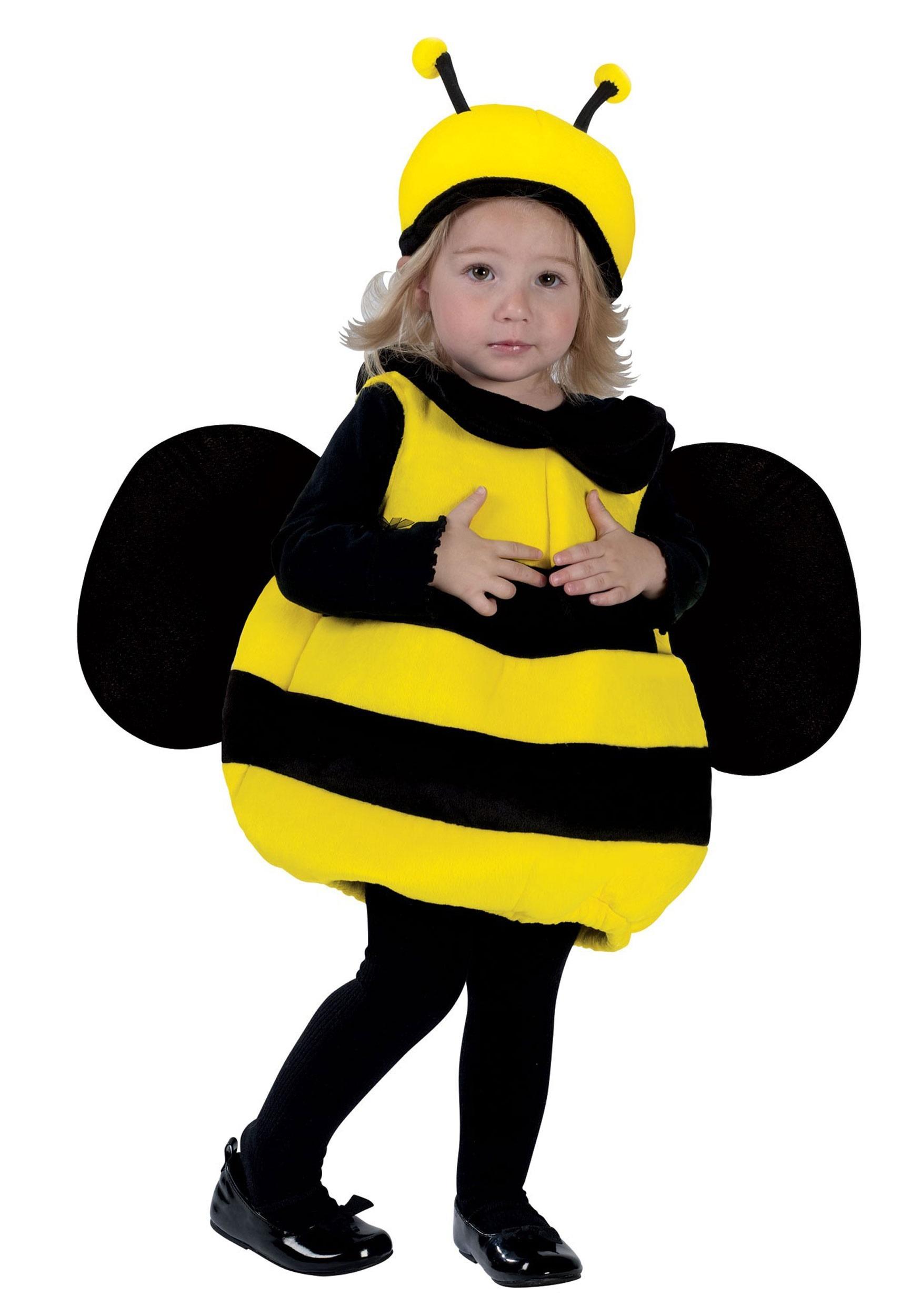 Niño Lindo Bumble Bee Niños Animal BUG NIÑAS NIÑO DISFRAZ elaborado vestido de 5-13 años