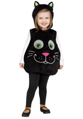 Disfraz de gato de ojos saltones para niños pequeños