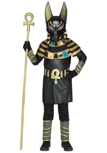Disfraz de Anubis para niño