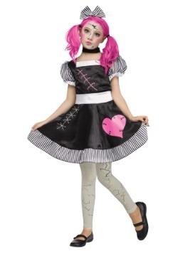 Disfraz de muñeca rota para niña