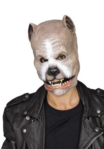 Máscara de pitbull para adulto
