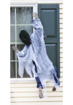 Adorno colgante de bruja para ventana