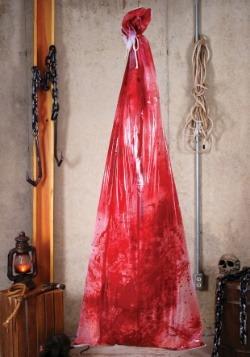Decoración de cuerpo sangriento en bolsa