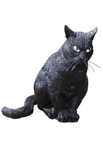 Decoración realista de gato espeluznante 13''