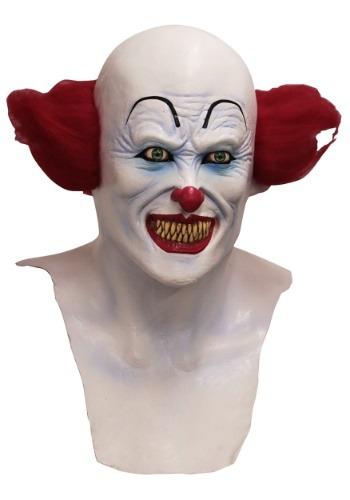 Máscara de payaso demonio espeluznante para adulto